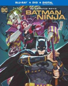 """La copertina dell'edizione americana del dvd e del Blu-Ray di """"Batman Ninja"""""""