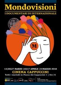 La locandina di Mondovisioni Genova 2018