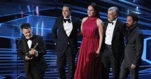 Oscar 2018: Lelio e il cast di Una moglie fantastica