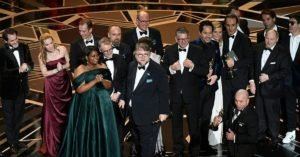 Oscar 2018: Del Toro e il cast de La forma dell'acqua