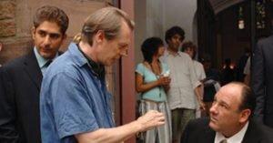 Imperioli, Buscemi e Gandolfini sul set de I Soprano