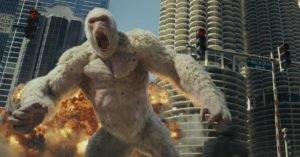 Immagine tratta dal film 'Rampage'