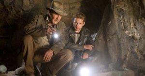 Harrison Ford Shia Labeouf Il regno del teschio di cristallo