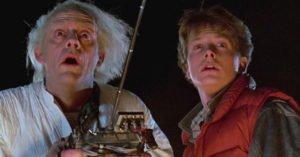 Christopher Lloyd Michael J Fox Ritorno al futuro