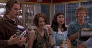 Winona Ryder Ethan Hawke Giovani carini disoccupati Stranger Things 3 My Sharona