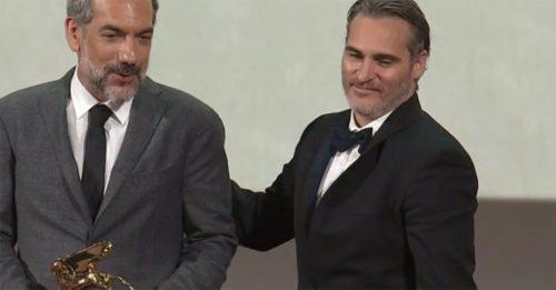 """Venezia76: """"Joker"""" è Leone d'Oro 2019. Tutti i vincitori della Mostra"""