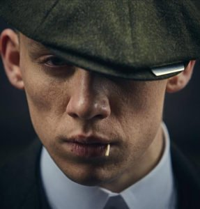 peaky blinders cappello rasoio john shelby joe cole
