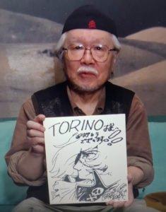 leiji matsumoto capitan harlock disegno dedicato a torino