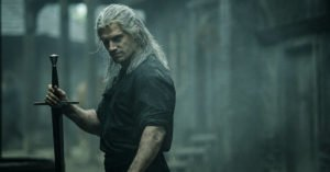 the witcher geralt di rivia henry cavill spada