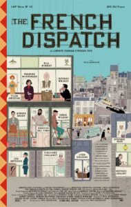 the french dispatch locandina nuovo film wen anderson