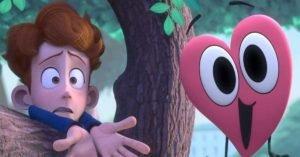 film per bambini in a heartbeat cuore