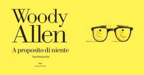 copertina rielaborata nuovo libro woody allen gialla