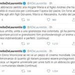 morte ennio morricone twitter aurelio de laurentiis