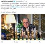 morte ennio morricone twitter david di donatello