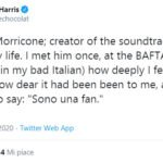 morte ennio morricone twitter joanne harris