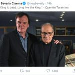 morte ennio morricone twitter quentin tarantino new beverly cinema