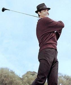 sean connery golf goldfinger