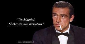 citazione james bond battuta martini sean connery 007