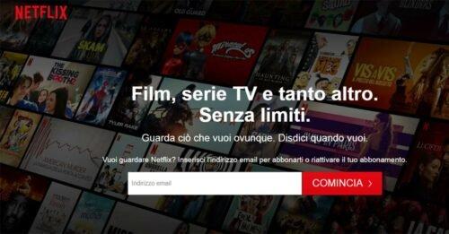 Netflix cancella il periodo di prova gratis per vedere film e serie tv