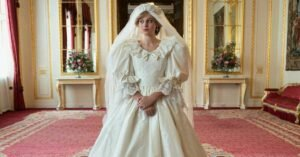 the crown 4 trailer emma corrin vestito da sposa lady diana