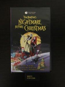 videocassetta originale nightmare before christmas