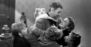 james stewart la vita e meravigliosa abbraccio famiglia