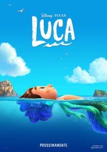 luca pixar teaser poster mare bambino meta pesce cinque terre