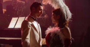 carosello carosone eduardo scarpetta ludovica martino lita costume ballerina piume