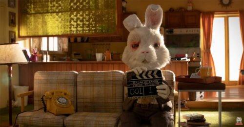 coniglio bianco divano ciak save ralph