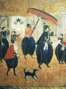 samurai nero yasuke netflix anime non giapponese stampa giapponese schiavo nero ombrello porto di nanban