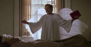 patch adams robin williams travestimento da angelo ali aureola