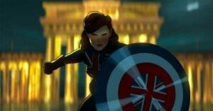 what if serie tv marvel captain britain scudo bandiera gran bretagna