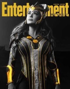 copertina digitale entertainment weekly eternals marvel ajak salma hayek