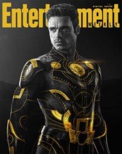 copertina digitale entertainment weekly eternals marvel ikaris richard madden