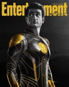 copertina digitale entertainment weekly eternals marvel kingo