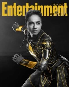 copertina digitale entertainment weekly eternals marvel makkari
