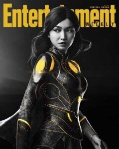 copertina digitale entertainment weekly eternals marvel sersi gemma chan