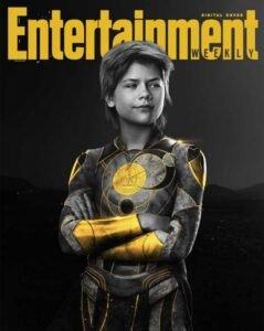 copertina digitale entertainment weekly eternals marvel sprite lia mchugh