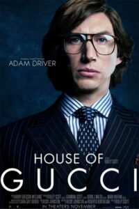 house of gucci character poster personaggi adam driver maurizio gucci