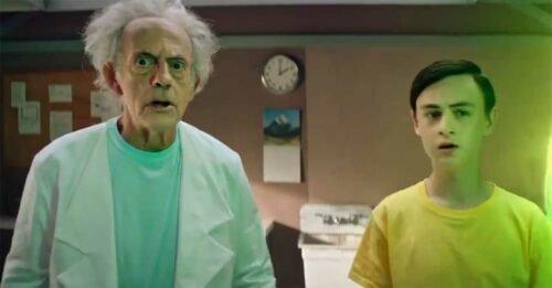 """Christopher Lloyd è Rick Sanchez in carne e ossa, in una clip promo di """"Rick and Morty"""""""