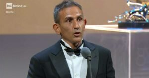 venezia 2021 regista michelangelo frammartino premio speciale della giuria discorso di ringraziamento