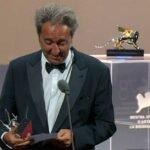 Sorrentino, Frammartino, Scotti: i discorsi degli italiani premiati a Venezia 78