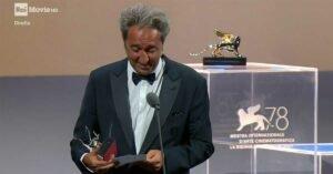 venezia 2021 paolo sorrentino discorso di ringraziamento leone d argento